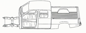 extended cab truck image